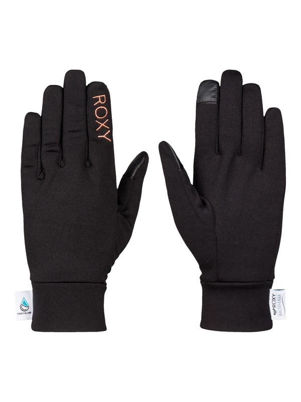 0 Enjoy & Care - Liner Snow Gloves  ERJHN03050 Roxy
