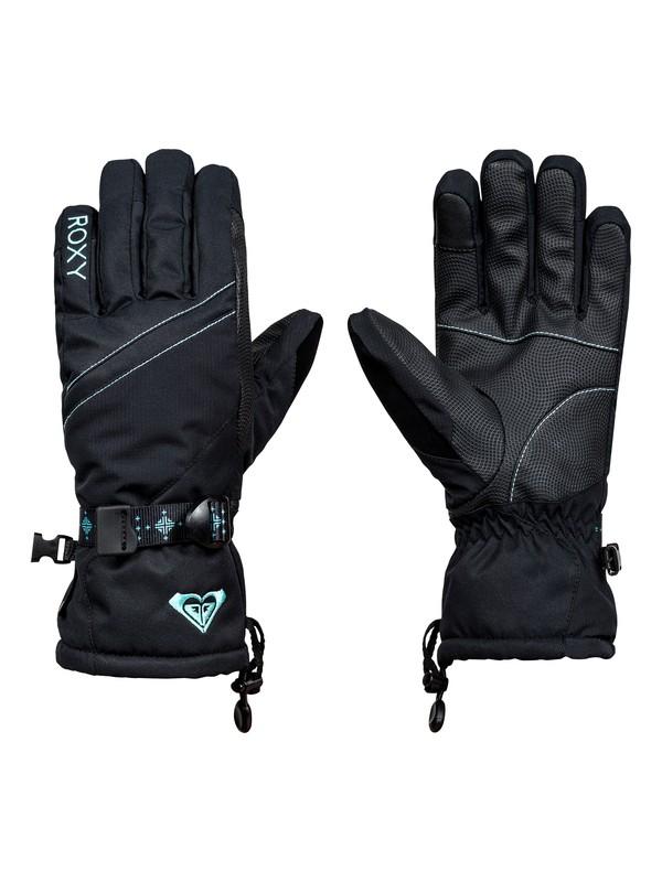 0 Crystal Snow Gloves  ERJHN03060 Roxy