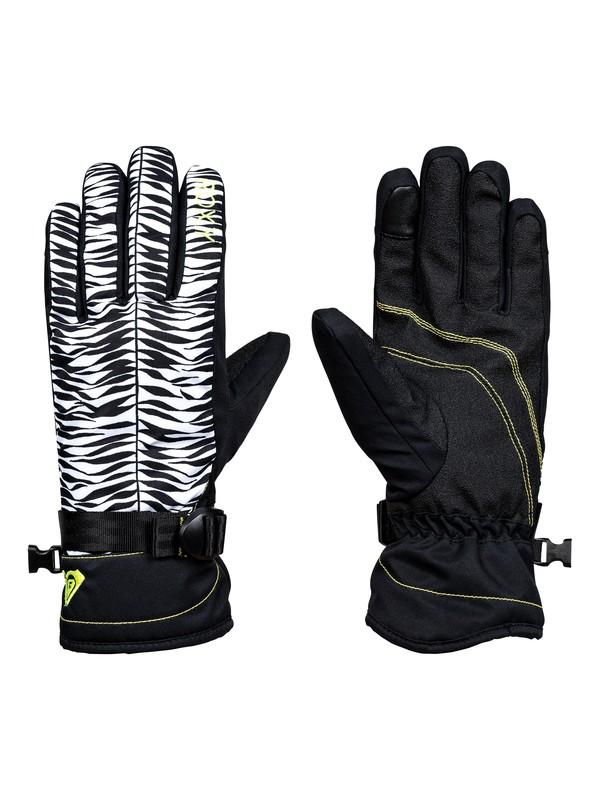 0 ROXY Jetty - Snowboard/Ski Gloves Black ERJHN03068 Roxy