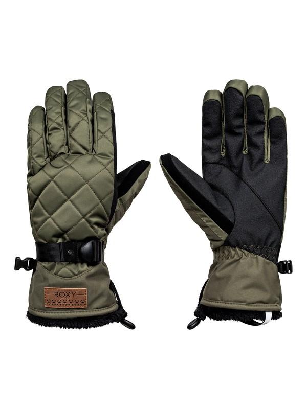 0 Merry Go Round  Snowboard/Ski Gloves  ERJHN03069 Roxy