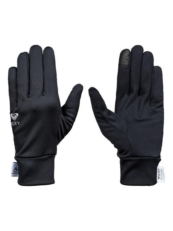 0 Enjoy & Care - Polartec® Liner Gloves Black ERJHN03073 Roxy