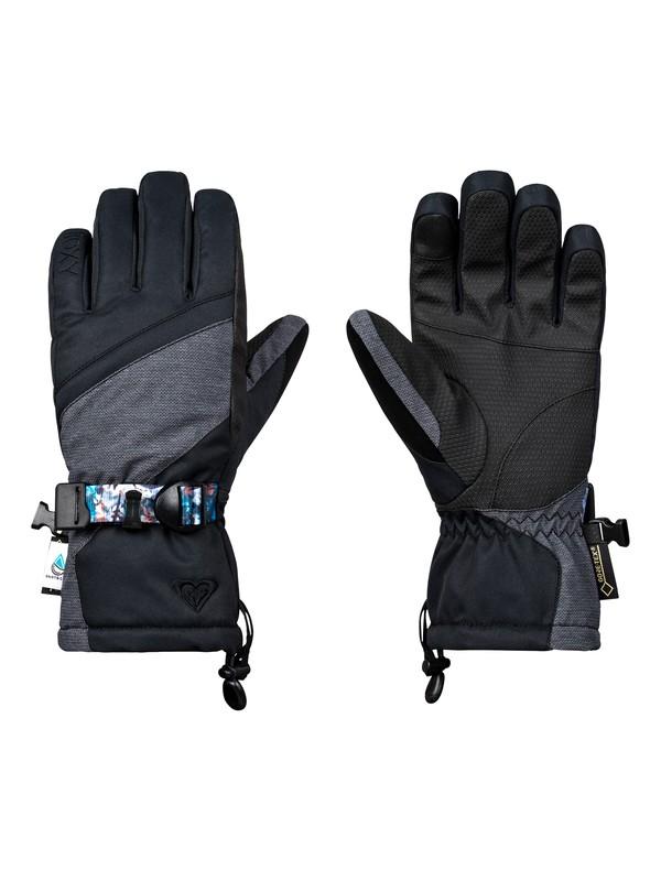 0 Crystal Snowboard/Ski Gloves Black ERJHN03092 Roxy