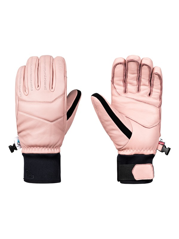 0 ROXY Premiere Snowboard/Ski Gloves Pink ERJHN03093 Roxy