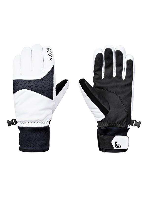 0 Big Bear - Gloves for Women White ERJHN03094 Roxy