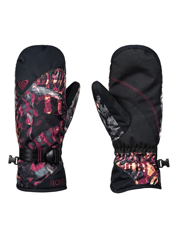 0 ROXY Jetty - Ski/Snowboard Mittens for Women Green ERJHN03103 Roxy