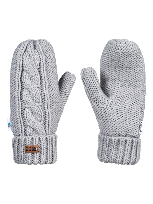 0 Winter - Moufles pour Femme Gris ERJHN03112 Roxy