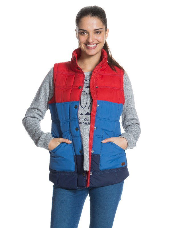 0 Deep Waters Vest  ERJJK03037 Roxy