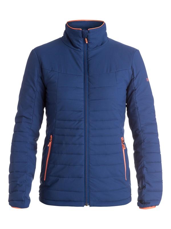 0 Куртка женская Highlight Stretch Синий ERJJK03118 Roxy