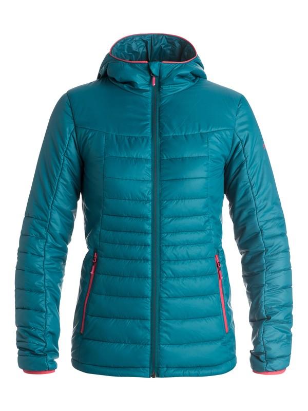 0 Куртка женская Highlight Синий ERJJK03120 Roxy
