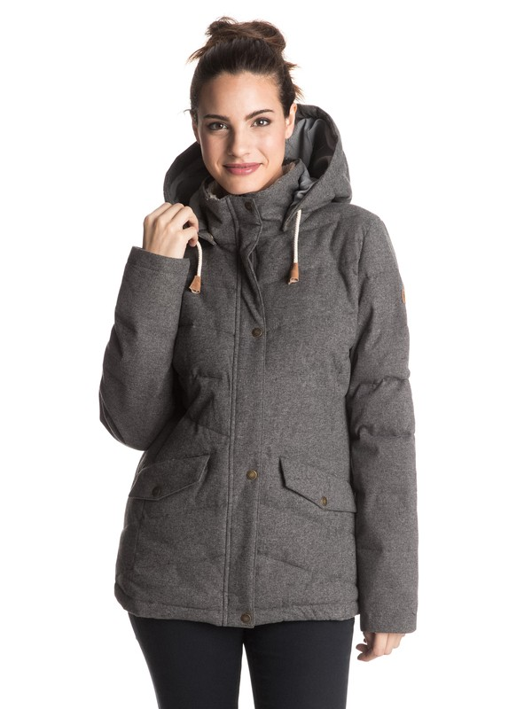 0 Nancy - Quilted Technical Jacket  ERJJK03126 Roxy