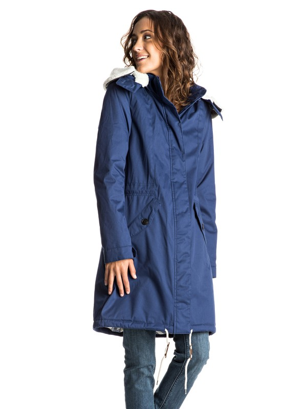 0 Lucie In The Sky - Long Parka  ERJJK03130 Roxy