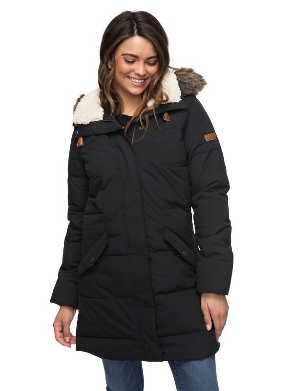 0 Ellie Waterproof  Hooded Jacket  ERJJK03186 Roxy