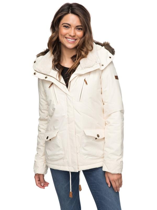 0 Куртка Darcy 5K Бежевый ERJJK03188 Roxy