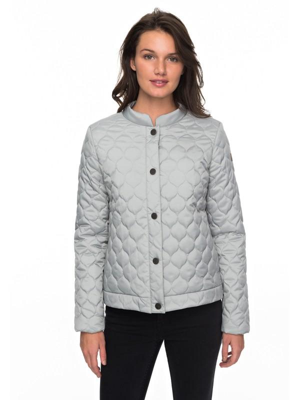 0 Funky Spirit - Gesteppte Jacke für Frauen Grau ERJJK03224 Roxy