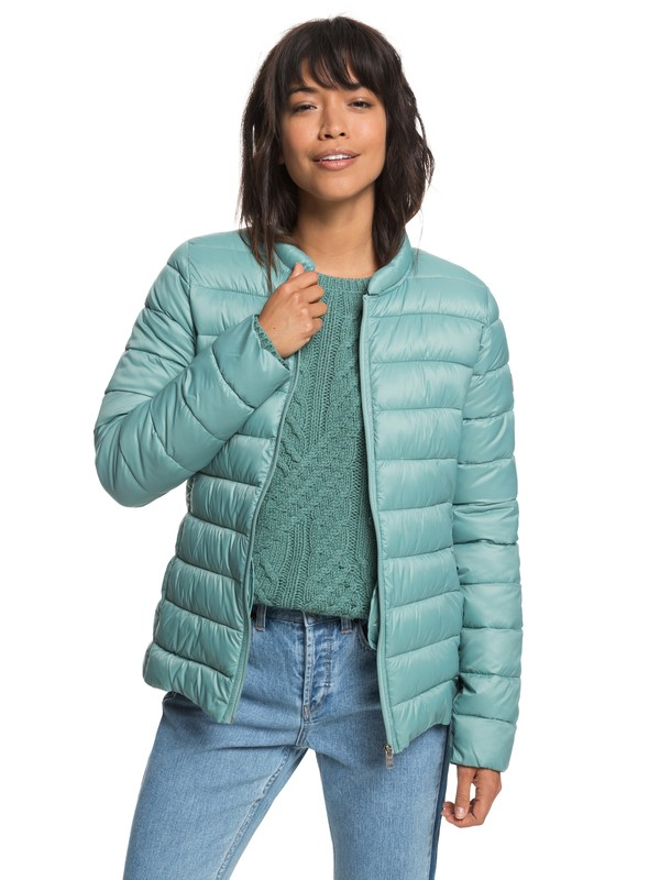 0 Endless Dreaming Packable Insulator Jacket Blue ERJJK03252 Roxy