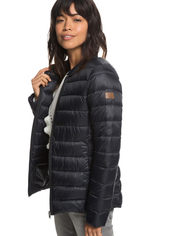 0 Endless Dreaming Packable Lightweight Puffer Jacket Black ERJJK03252 Roxy