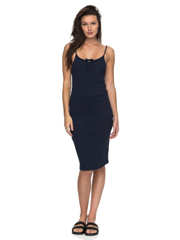 0 Happy New Way Midi Body Con Dress  ERJKD03150 Roxy
