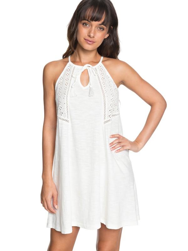 0 Enchanted Island - Strappy Dress for Women White ERJKD03164 Roxy