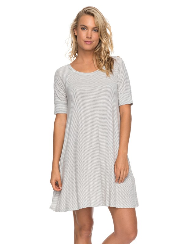 0 Smitten Kitten  Swing Dress Grey ERJKD03176 Roxy