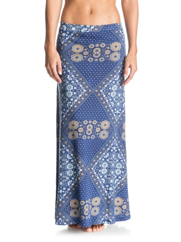 0 Forever Found Printed Maxi Skirt  ERJKK03009 Roxy