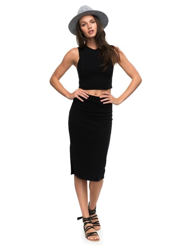 0 Away From The City - Falda a media pierna muy ajustada para Mujer  ERJKK03017 Roxy