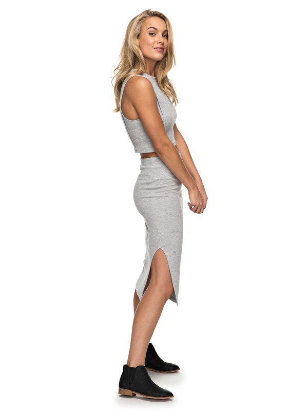 0 Away From The City Midi Bodycon Skirt  ERJKK03017 Roxy