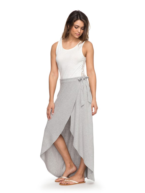 0 Everlasting Afternoon  Maxi Wrap Skirt  ERJKK03023 Roxy