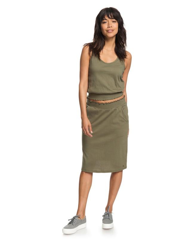 0 I Feel Fine Midi Skirt  ERJKK03026 Roxy