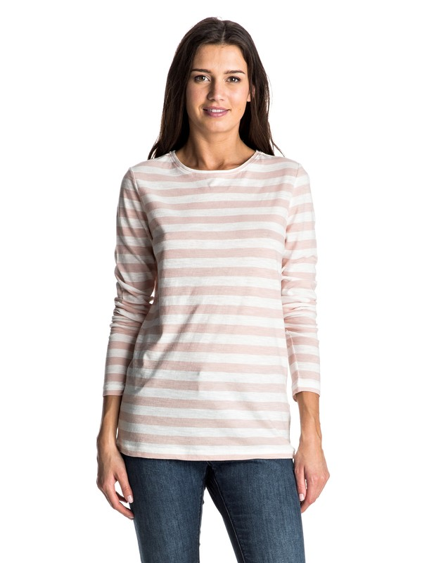 0 Zarauz Beat Stripes Long Sleeve Top  ERJKT03195 Roxy