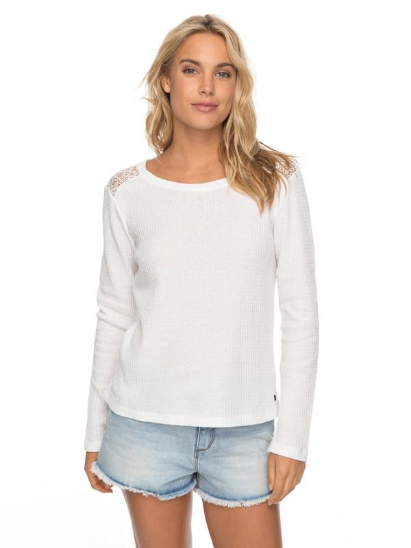 0 Break Master - Long Sleeve Top for Women White ERJKT03364 Roxy