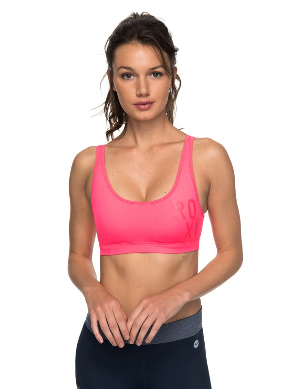 0 Tropical Twist - Sport-BH für Frauen Rosa ERJKT03383 Roxy