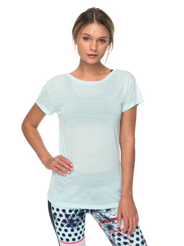 0 Dakota Dreaming - Technical T-Shirt for Women Blue ERJKT03390 Roxy