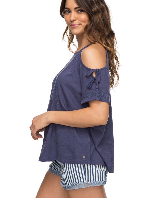 0 Hills Of Love Cold Shoulder Top  ERJKT03427 Roxy