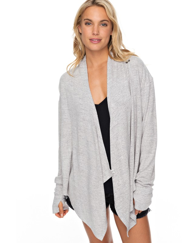 0 Feel It All Around Lounge Wrap Top  ERJKT03432 Roxy