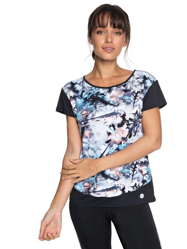 0 Be You - Technical T-Shirt for Women Blue ERJKT03436 Roxy