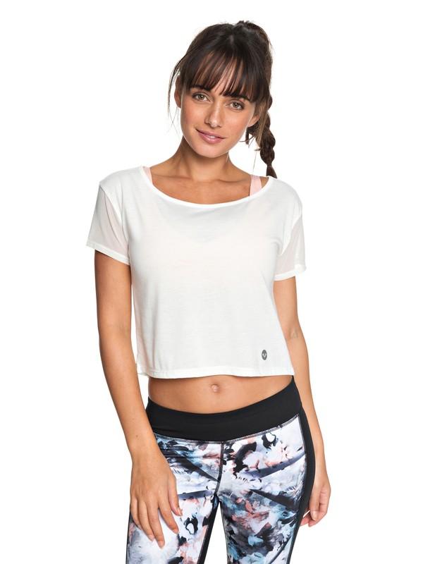 0 Meaning Of Soul - Technisch T-shirt voor Dames White ERJKT03440 Roxy
