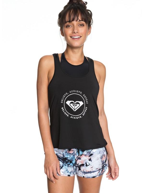 0 Take A Breath - Technical Vest Top for Women Black ERJKT03443 Roxy