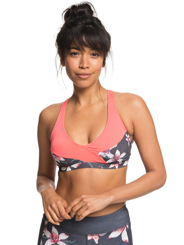 0 Next To You - Sports Bra for Women Black ERJKT03449 Roxy