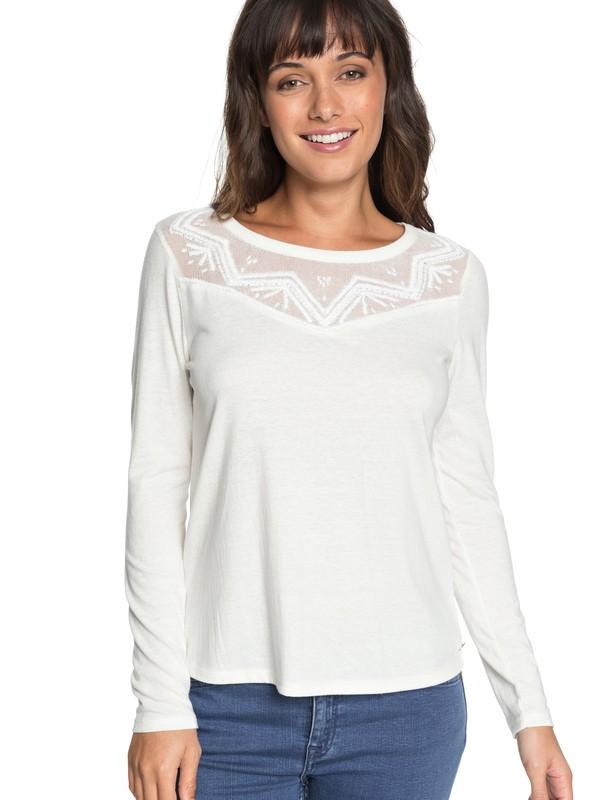 0 Blossom Day - Long Sleeve Top for Women White ERJKT03460 Roxy