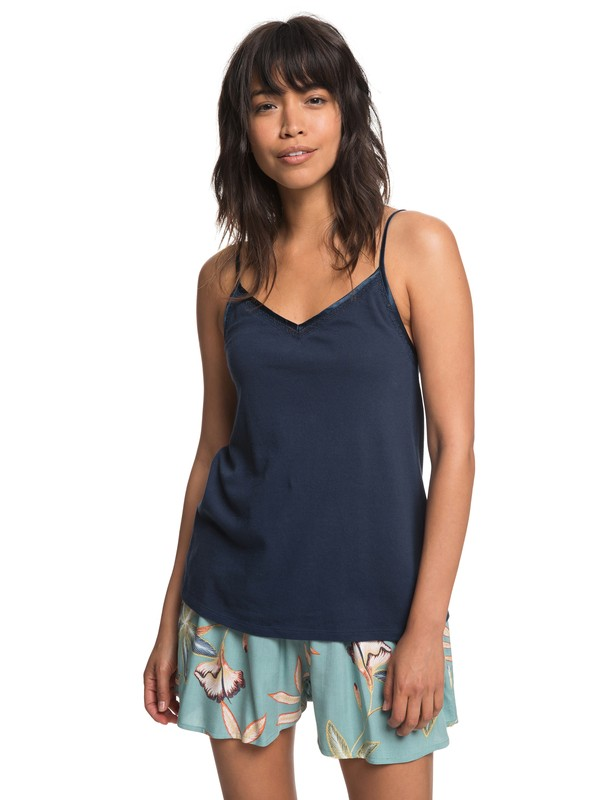 0 Minimal Path Cami Top Blue ERJKT03461 Roxy