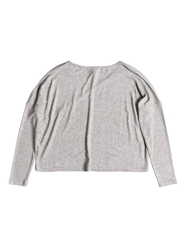 0 Your Time Long Sleeve Top Grey ERJKT03487 Roxy