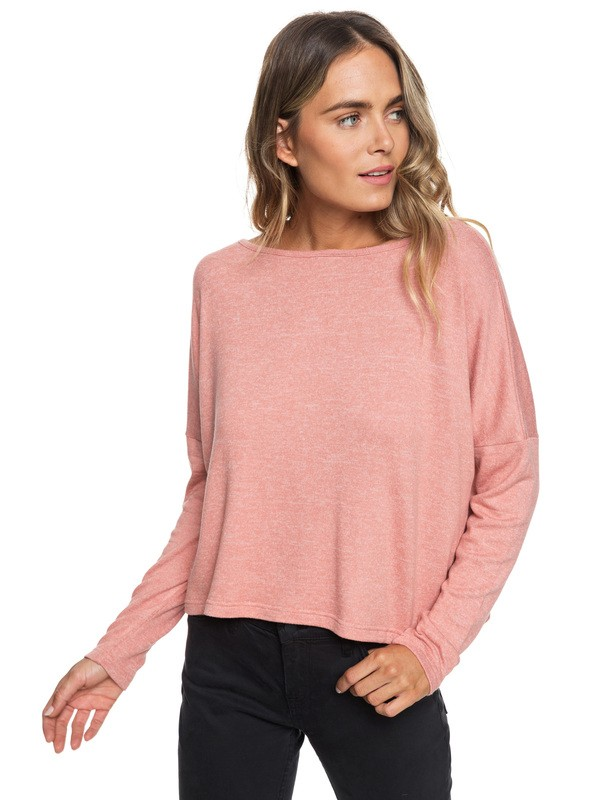 0 Your Time Long Sleeve Top Pink ERJKT03487 Roxy