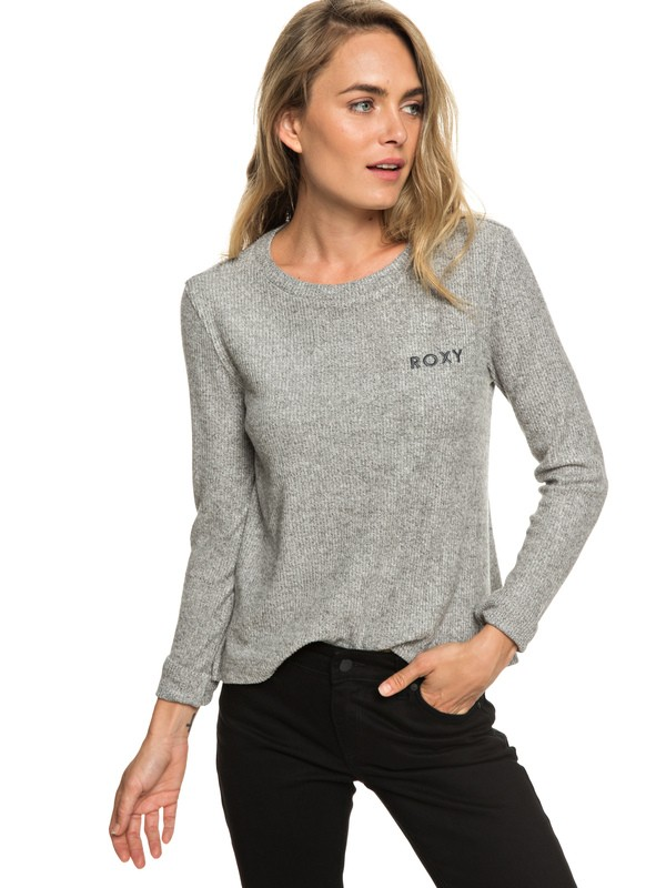 0 Sea Skipper Long Sleeve Top Grey ERJKT03539 Roxy