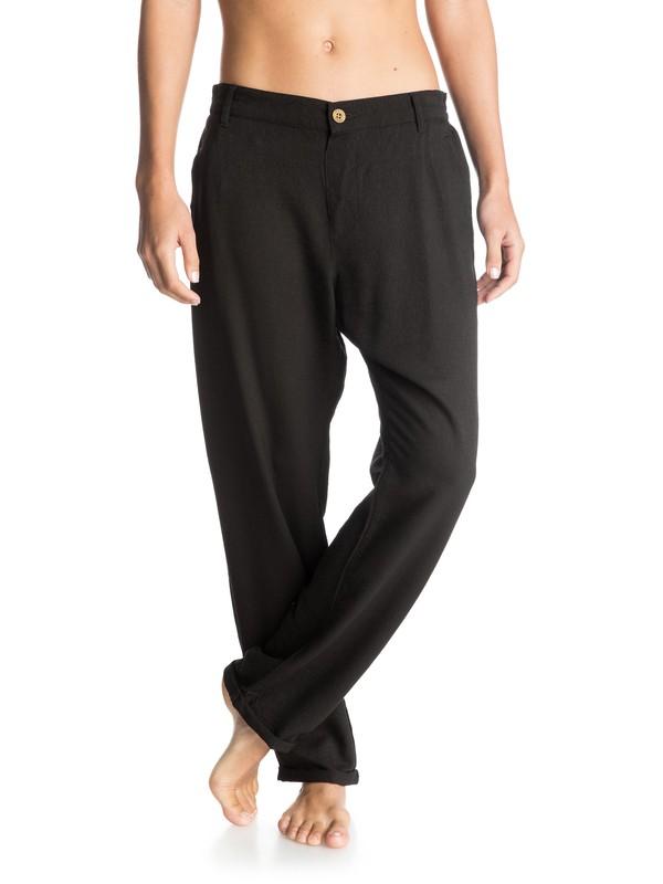 0 Half Moon - Trousers  ERJNP03019 Roxy