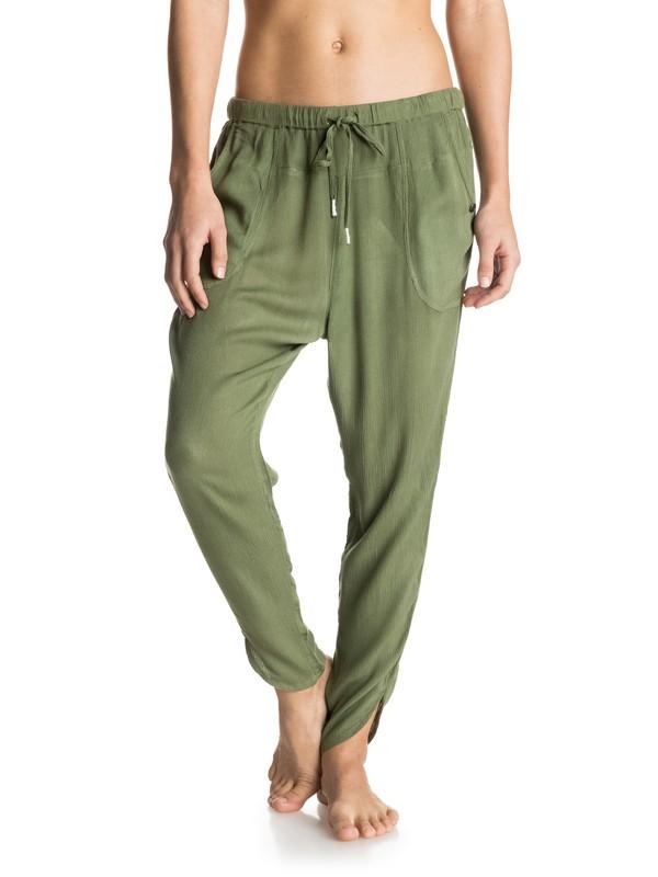 0 Golden Haze Solid - Beach Pants  ERJNP03038 Roxy