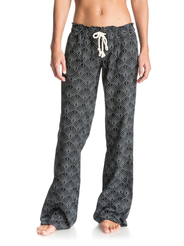 0 Oceanside Printed Beach Pants  ERJNP03041 Roxy