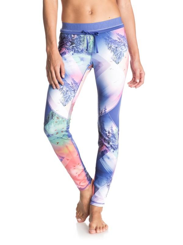 0 Keep It Warm - Pantalon de jogging Blanc ERJNP03044 Roxy