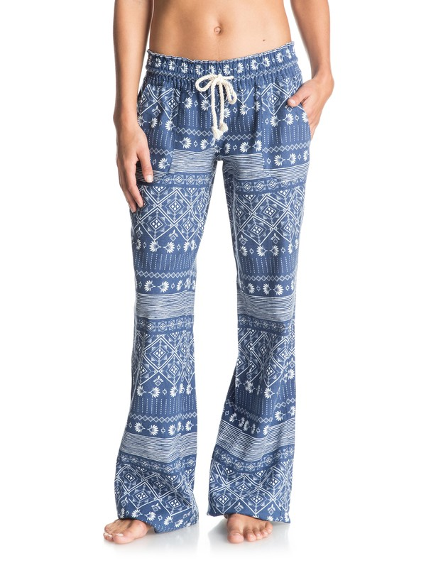 0 Oceanside Printed Beach Pants  ERJNP03075 Roxy