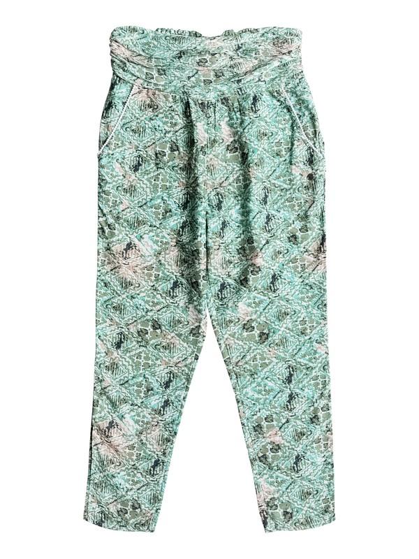 0 Ultra Violet Printed jogger Pants  ERJNP03093 Roxy