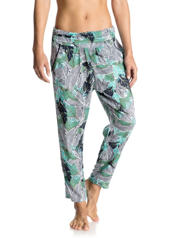 0 Ultra Violet Printed - Beach Pants Blue ERJNP03093 Roxy